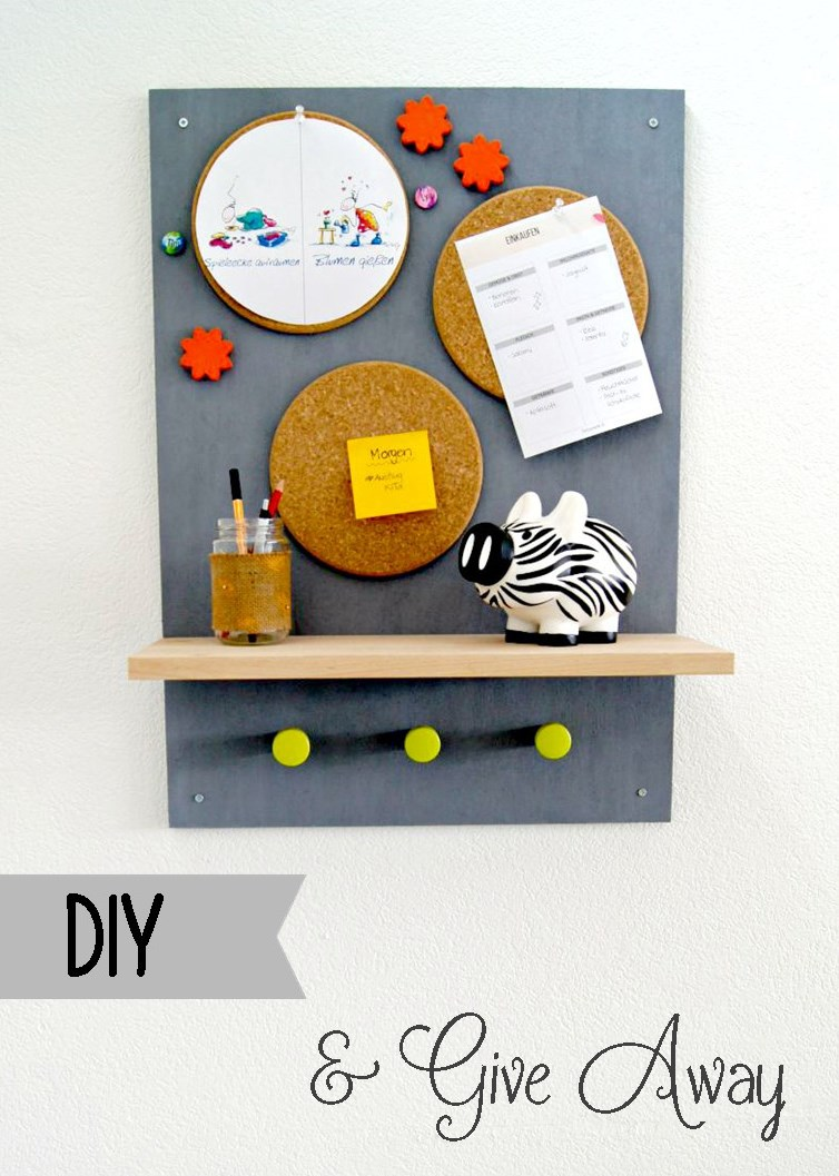 Familien-Organizer {DIY & Give away}