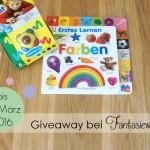 Wie Kinder Farben kennenlernen {Giveaway}