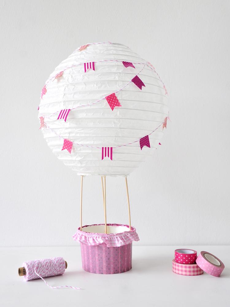 Diy Heissluftballon Fur Das Kinderzimmer Fantasiewerk
