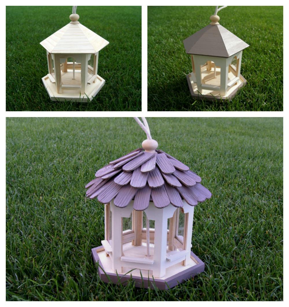 Ein Vogelhäuschen mit Kindern im Garten bauen | von Fantasiewerk.ch