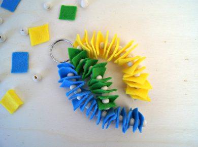 Kreativitätsförderung für Kinder: Basteln mit 5 Materialien
