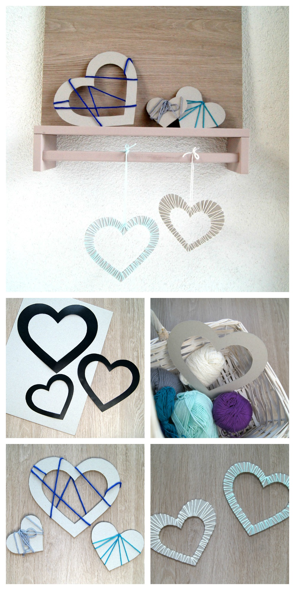valentinsherzen einmal anders gestalten kids kreativ fantasiewerk. Black Bedroom Furniture Sets. Home Design Ideas