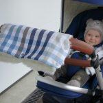 Hübscher Handwärmer für den Kinderwagen