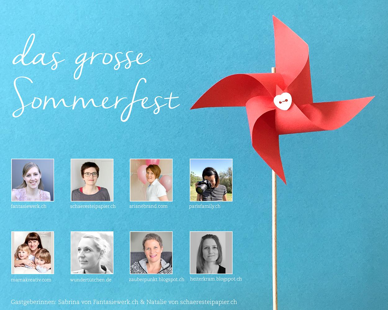 Das grosse Sommerfest - Blogger sammeln Inspirationen für die Sommer Party