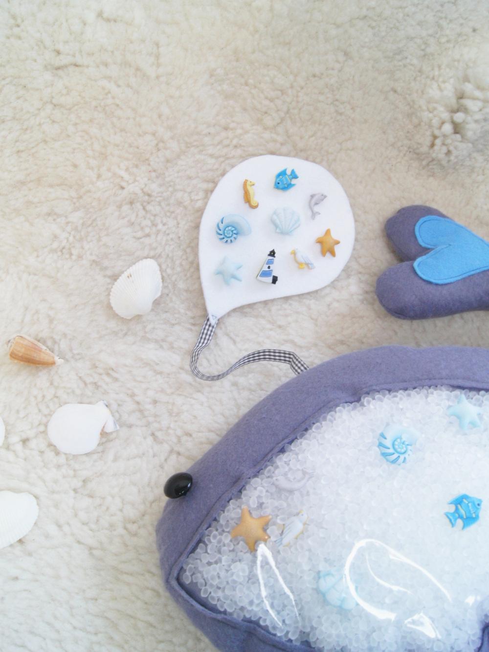 Kostenloses Ebook - Anleitung und Vorlagen: Stofftier und Entdeckerspiel für Kleinkinder. Der Wal lädt kleine Kinder zum Spielen und Kuscheln ein. | von Fantasiewerk
