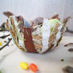 Osternest aus Naturmaterialien gestalten