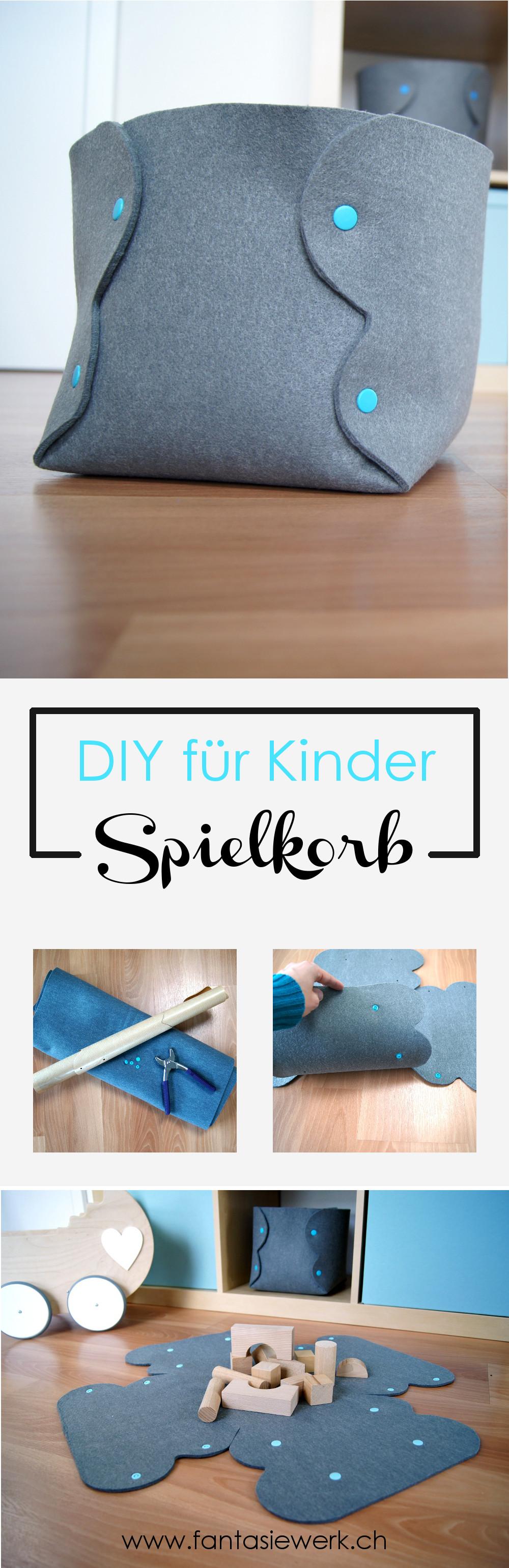 Spielzeugbox für Kinder und Babys. DIY Anleitung für Familien zum selbermachen einer schönen Kiste für das Kinderzimmer | von Fantasiewerk