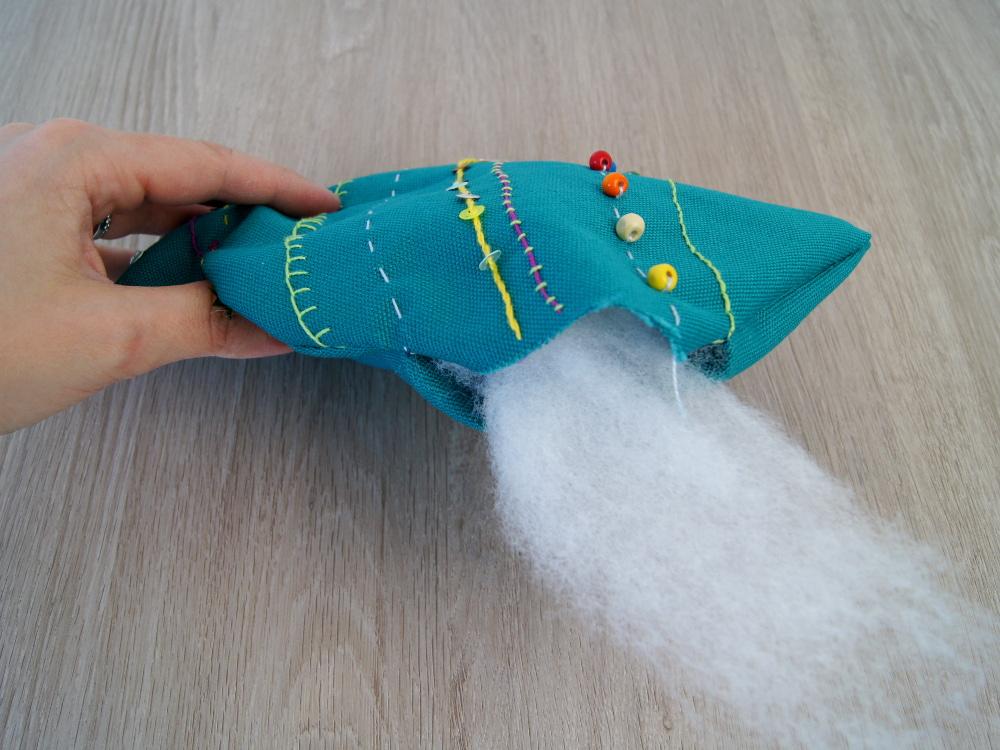 Anleitung zum Handarbeiten mit Kindern | #Stofftier Fisch nähen und #sticken | von Fantasiewerk