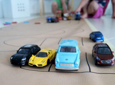 Ideen für einen Kindergeburtstag für kleine Bauarbeiter | Baustellen Party mit Spielen | von Fantasiewerk