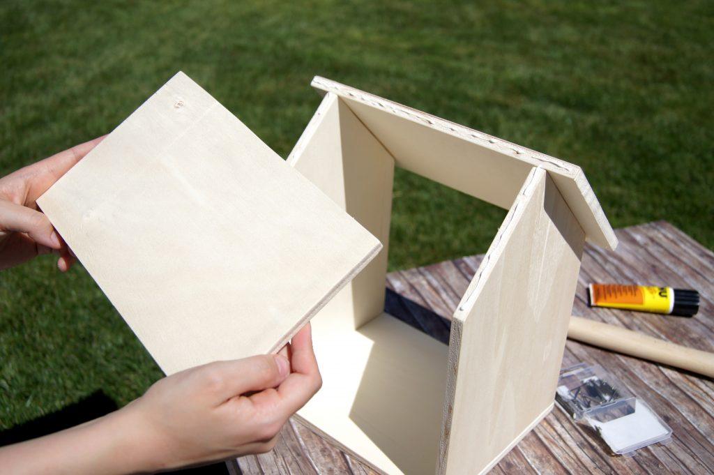 Anleitung: Ein Vogelhaus aus Holz selbermachen | Basteln