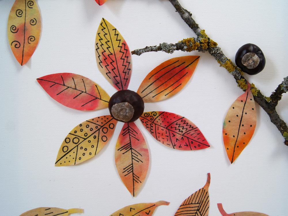 Basteln Und Experimentieren Mit Kindern Im Herbst Gestalte Ein Bild