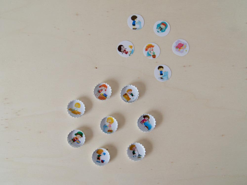 DIY - Anleitung | Kindergarderobe selbermachen | Mom-Hacks mit Ämterplan in der Garderobe