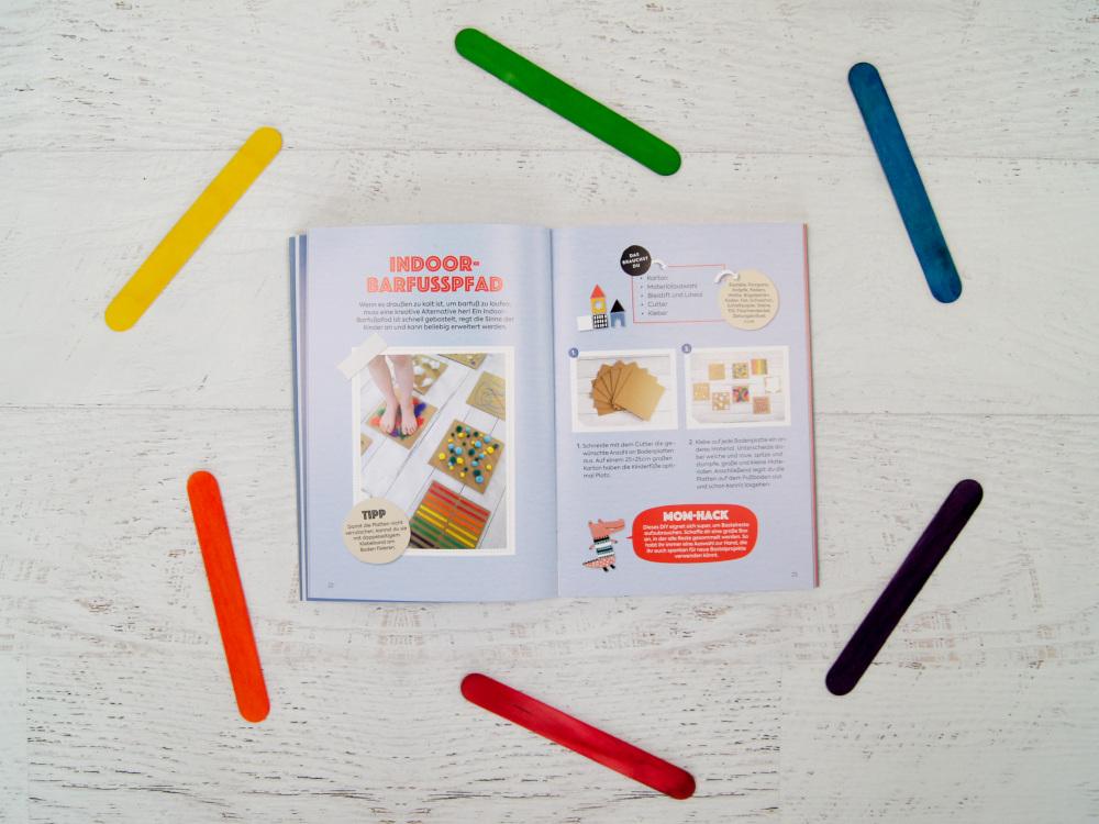 Anti Quengel Buch - Ein Bastelbuch mit Bindungsspielen, Sinnesspielen, Bewegungsspielen und Rezepte für Kinder und Familien