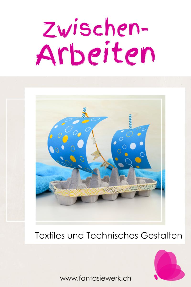 Ebook - Zwischenarbeiten für den TTG - Unterricht | Basteln Handarbeiten Werken mit Kindern von 6-12 Jahren